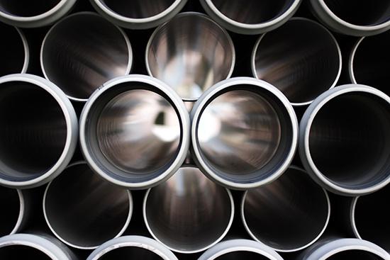 Main product, Vinyl intermediates pile of vinyl pipes