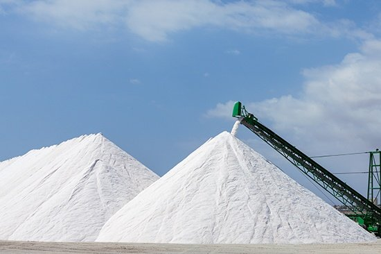 Main product, salt extraction for the production of potassium derivatives