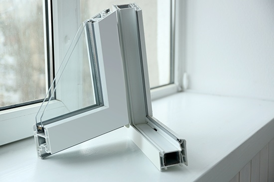 PVC K66 use, window profiles