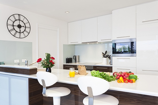 Product application, kitchen with PVC K57 elements