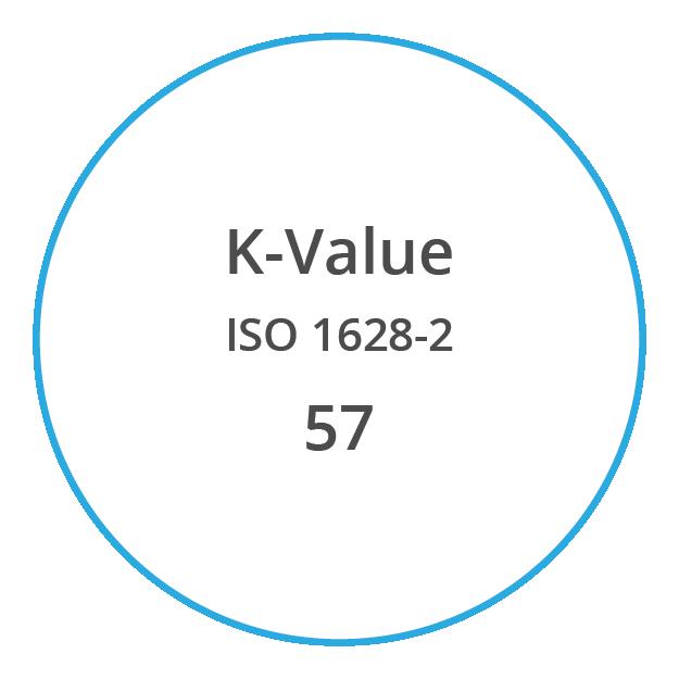 VYNOVA S5702 K Value ISO 1628 2 57