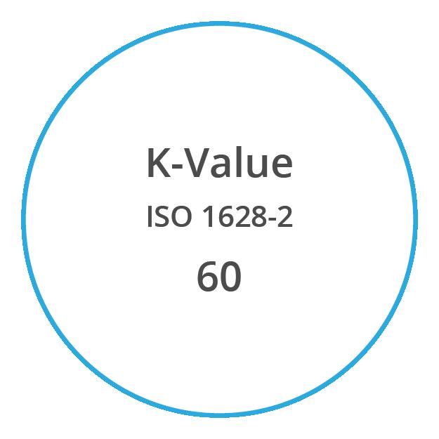 VYNOVA S6030 K Value ISO 1628 2 60