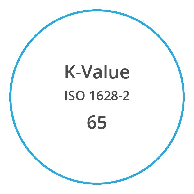 VYNOVA S6502 K Value ISO 1628 2 65