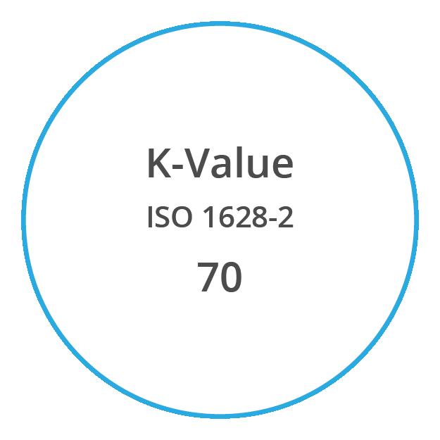 VYNOVA S7000 K Value ISO 1628 2 70